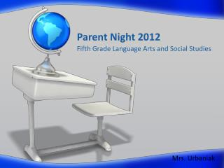 Parent Night 2012