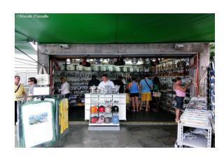 A  tourist gift  shop