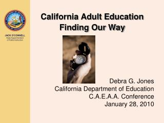 California Adult Education Finding Our Way