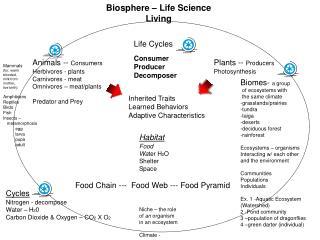 Biosphere – Life Science  Living