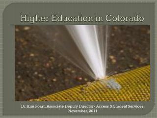 Higher Education in Colorado