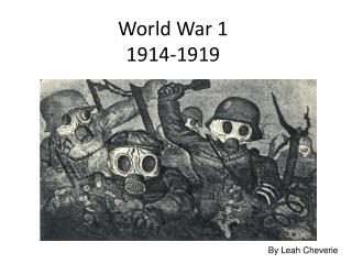 World War 1 1914-1919