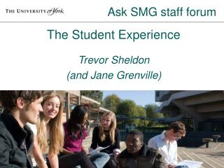 Ask SMG staff forum