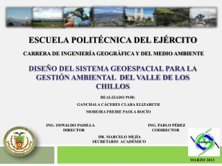 ESCUELA POLITÉCNICA DEL EJÉRCITO
