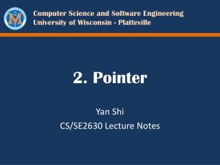 2. Pointer