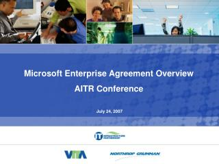 Microsoft Enterprise Agreement Overview AITR Conference