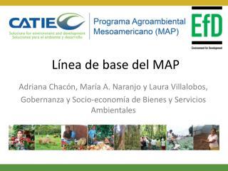 Línea de base del MAP