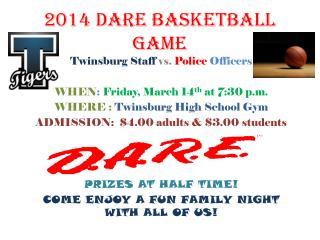 2014 DARE basketball game