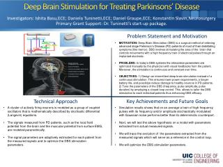 Deep Brain Stimulation for Treating  Parkinsons � Disease