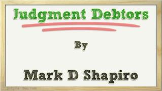 ppt 27070 Judgment Debtors