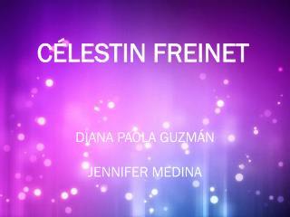 C�LESTIN FREINET