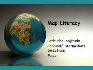 Map Literacy