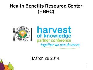 Health Benefits Resource Center (HBRC)