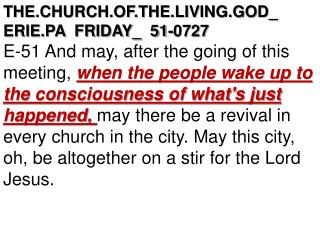 THE.CHURCH.OF.THE.LIVING.GOD_  ERIE.PA  FRIDAY_  51-0727