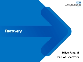 Illness Management and Recovery: An Introduction