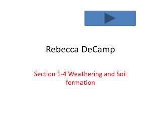Rebecca  DeCamp