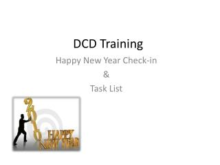 DCD Training