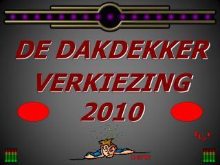 DE DAKDEKKER