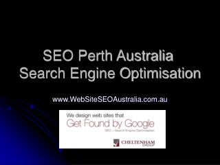 Perth SEO - Search Engine Optimisation