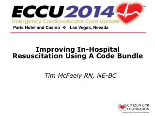 Improving In-Hospital Resuscitation Using A Code Bundle