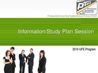 2014 UFE Program