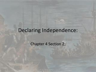 Declaring Independence: