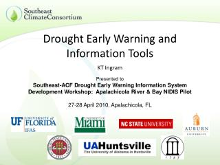 Drought Early Warning and Information Tools