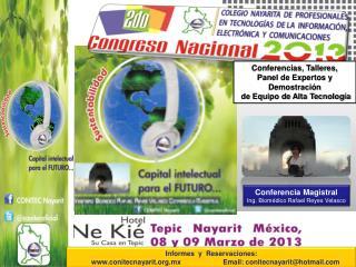 Conferencia Magistral  Ing. Biomédico Rafael Reyes Velasco