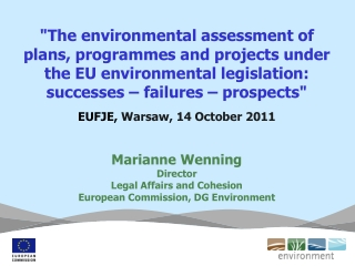Environmental Impact Assessment  of public and private projects   EIA Directive 85