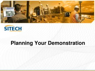 Planning Your Demonstration