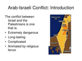 Arab-Israeli  Conflict: Introduction