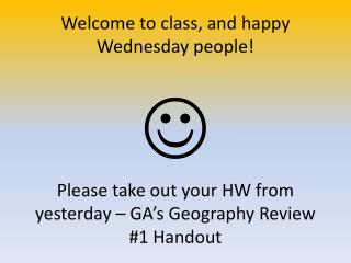 Georgia's Geography Review #1