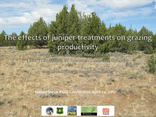 NatureServe  BWB Conference April 24, 2012