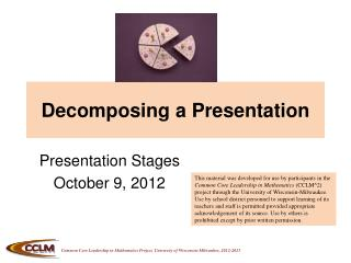 Decomposing a Presentation