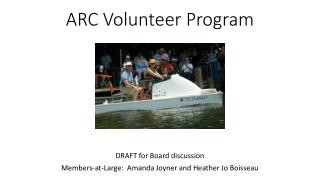 ARC Volunteer Program