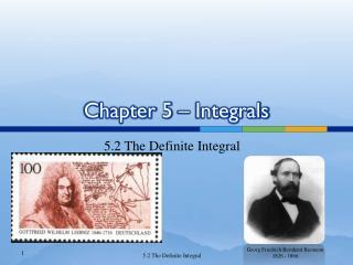 Chapter 5 � Integrals