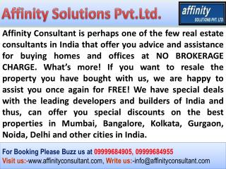 Noida Residential Projects @ 09999684955 @