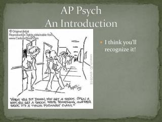 AP Psych An Introduction
