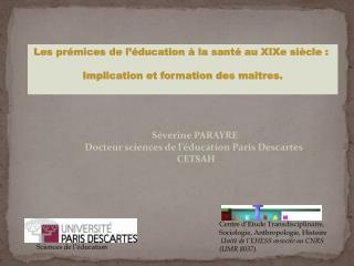 Sciences de l  ducation