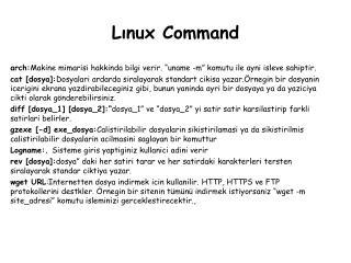 Lınux Command
