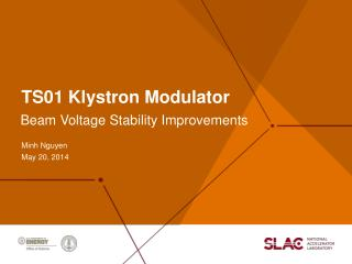 TS01 Klystron Modulator