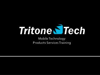 Mobile Technology Products Services Training
