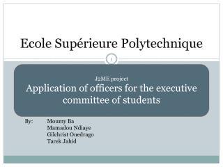 Ecole Supérieure Polytechnique