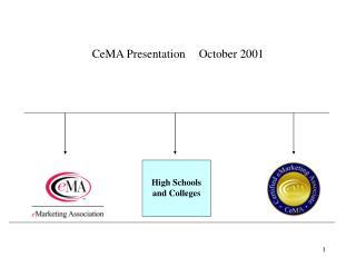 CeMA Presentation October 2001