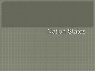 Nation States