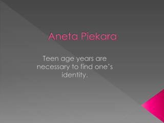 Aneta Piekara