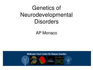 Genetics of Neurodevelopmental Disorders