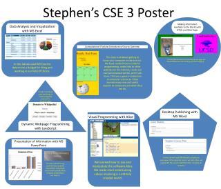 Stephen's CSE 3 Poster