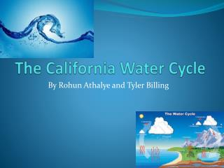 The California Water Cycle