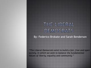 The Liberal Democrats